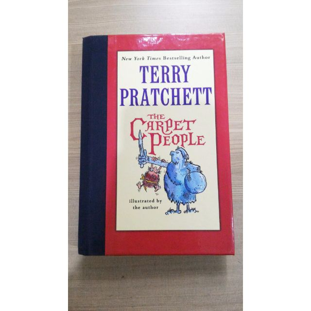 The Carpet People - Terry Pratchet (IMPORT, HARD COVER)