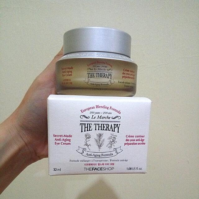The Face Shop Le Marche The Therapy Secret Made Anti Aging Formula Eye Cream 32ml