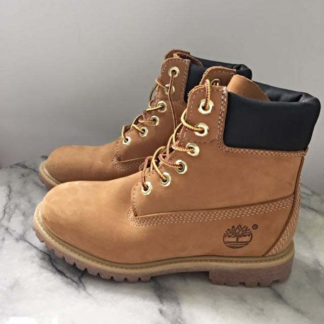 Timberland In Women's Size 6 Wheat Colour