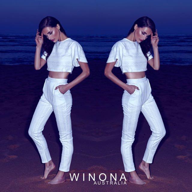 Winona Australia Gardiner Lace White set 6