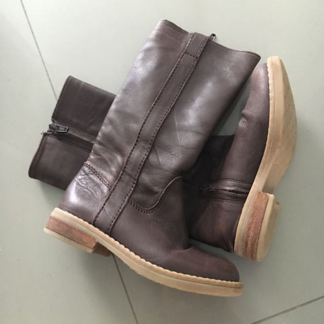 Witchery Leather Girls Boots