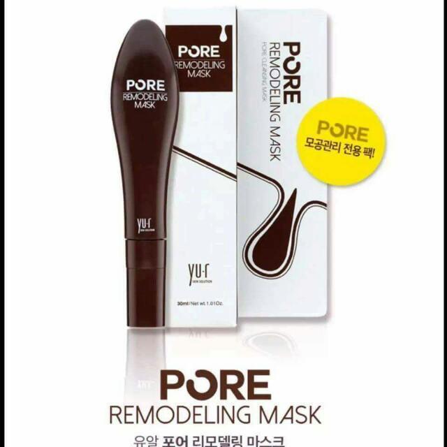 YU.R REMODELING MASK  毛孔收縮去黑頭清潔重塑膜