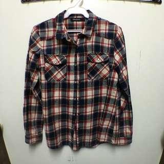 Folded & Hung Plaid Shirt