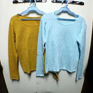 Two Sweaters Are Better Than One