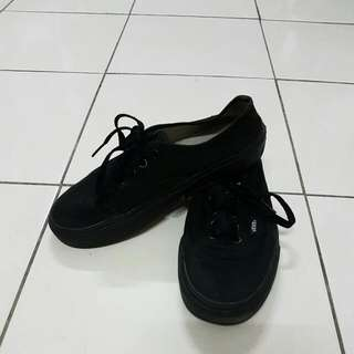 Authenthic Vans All Black
