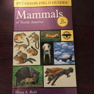 Person Field Guide: Mammals