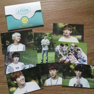 BTS 2nd Muster 17520 Photocards