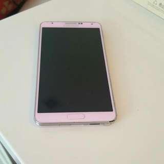 Preloved Pink Note 3, 32gb