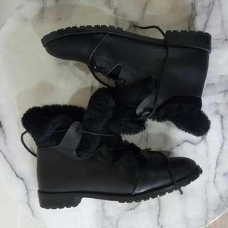 F Troupe Black Shoes