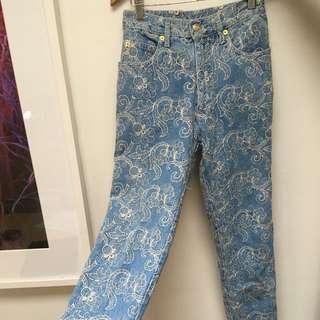 Regina Belli Embroider Jeans Sz 6