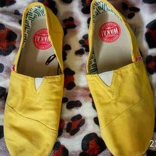 Wakai Shoes Original Yellow