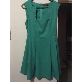 Teal Ally Dress