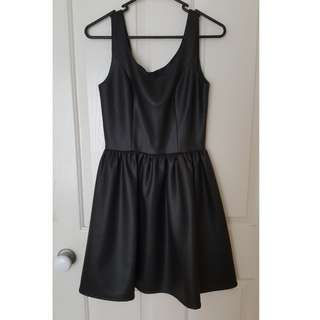 Dangerfield Faux Leather Dress Size 8 With Tags