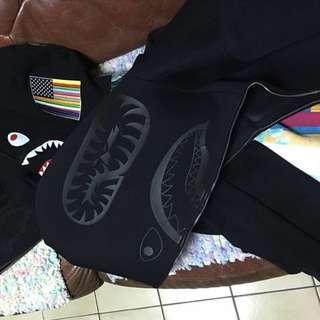 Bape 太空棉 鯊魚帽夾