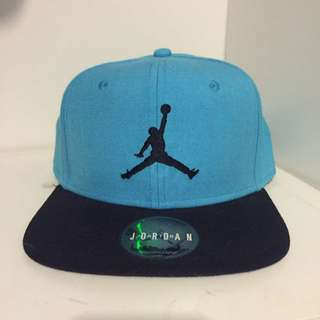 Blue/Black Authentic Jordan SnapBack