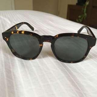 Bailey Nelson Hamilton Matte Tortoiseshell Sunglasses