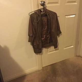 Size 12 Brown Jacket