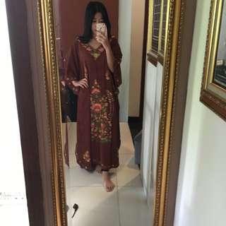 Kaftan Ramadhan / Kaftan Lebaran / Baju Muslim / Abaya / Gamis / Kaftan India