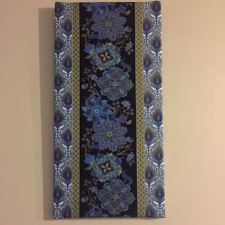 Peacock Pattern Canvas
