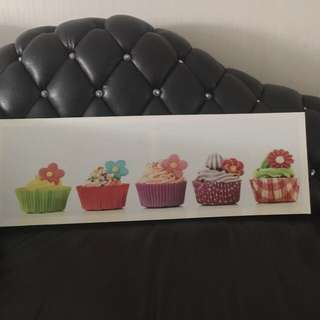 Cupcake Picture For Dining Room Or Kitchen