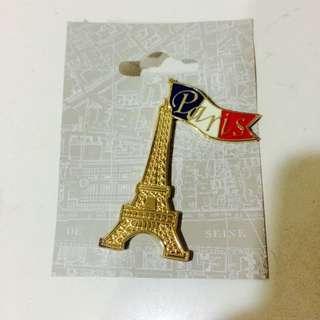 巴黎鐵塔徽章(全新)
