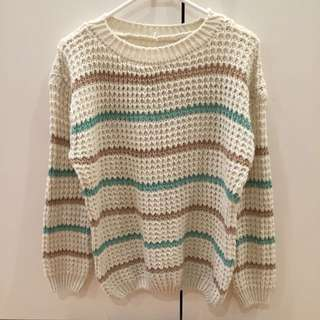 Cream Colour Knit Wear