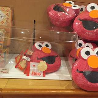 Elmo造型餅乾盒