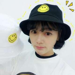 韓版刺繡漁夫帽
