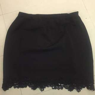 Boohoo Lace Skirt - 18