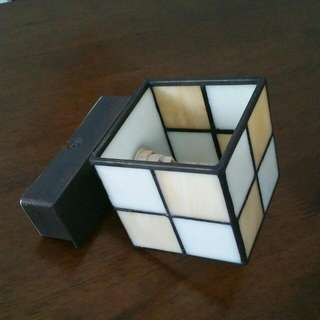 Classic Glass Squares Wall Lamp