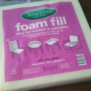 Foam Fill For Cushions And Upholstery