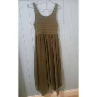 H&M Green maxi dress - worn once