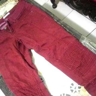 Celana Jeans, Denim, Bawahan