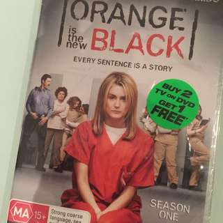 Orange Is The New Black Season One Dvds