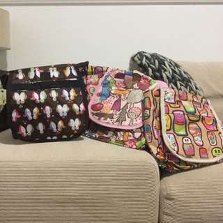 Super cute bags/ Lunch Boxes