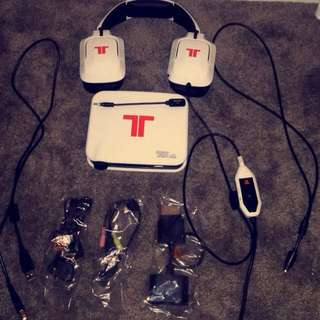 TRITON 720+ 7.1 Surround Sound Headset For PS4,PS3 And Xbox 360- White