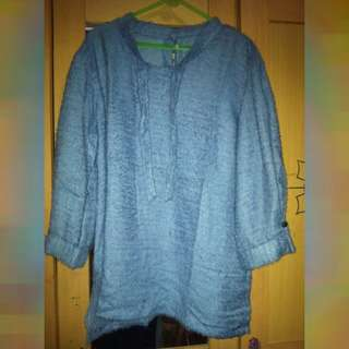 Preloved Baju Biru