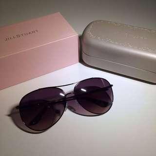 JILL STUART Purple Aviator Sunglasses