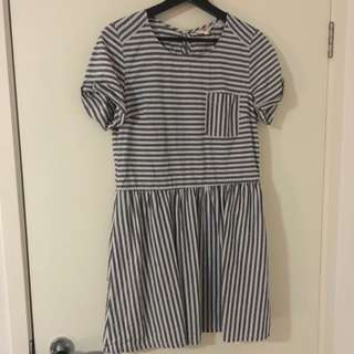 LEVI'S Cotton Stripe Dress
