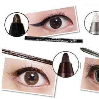Holika Holika Jewel Light Waterproof Eyeliners No. 5 Brown Amber