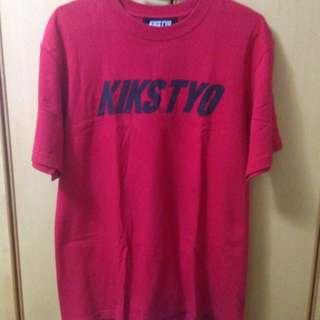 正品 Kikstyo 紅色L號