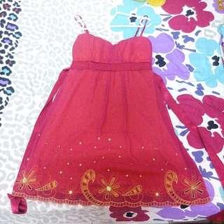 Fuchsia pink Dress Plus Size Uk12