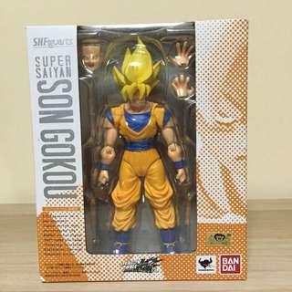 S H Figuarts Super Saiyan Son Goku Dragonballz