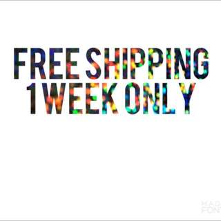 Free Shipping on ALL items!!!