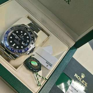 Rolex Oyster Perpetual GMT-Master II 116710 BLNR