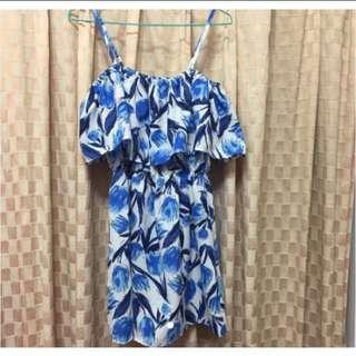 全新韓版時尚度假3way洋裝