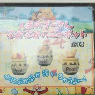 日本扭蛋-維尼Pool 交換或售
