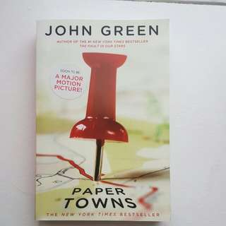 Paper Towns: By John Green