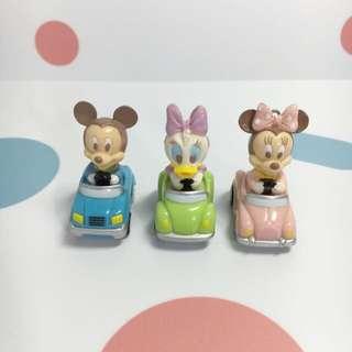 ✨玩具出清✨迪士尼 米妮米奇 回力車