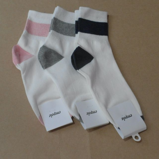 韓襪-粗線條長襪